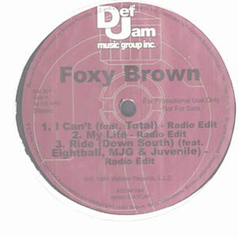 Foxy Brown - I can't feat.Total