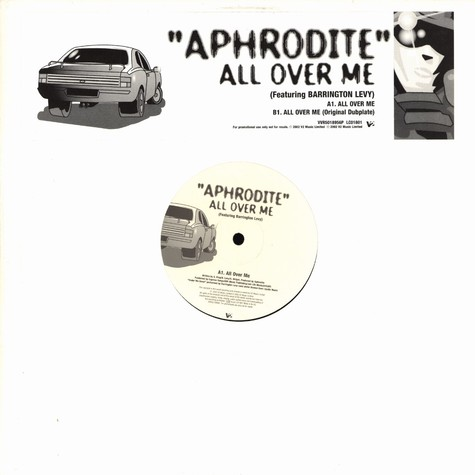 Aphrodite - All over me feat. Barrington Levy