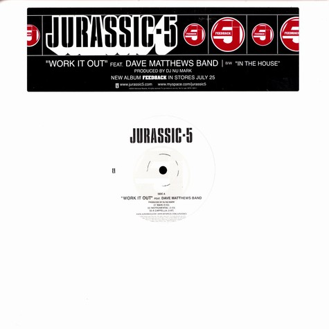 Jurassic 5 - Work it out feat. Dave Matthews Band