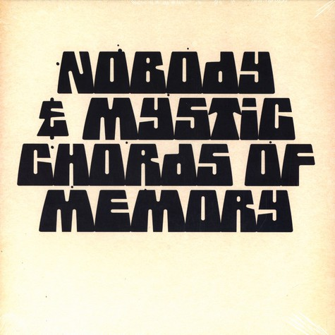 Nobody & Mystic Chords Of Memory - Broaden a new sound EP