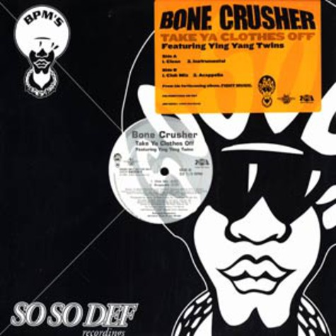 Bone Crusher - Take ya clothes off feat. Ying Yang Twins
