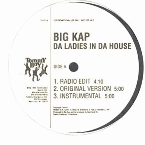 Big Kap - Da ladies in da house / big kap is illin
