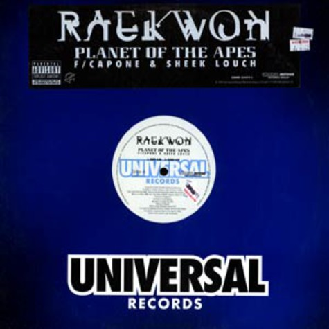 Raekwon - Planet of the apes feat. Capone & Sheek Louch