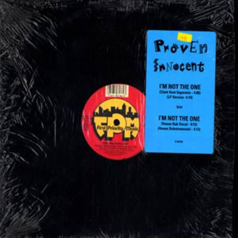 Proven Innocent - I'm not the one