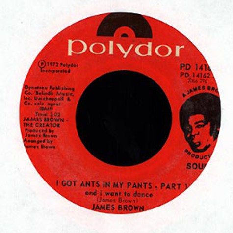 James Brown - I got ants in my pants