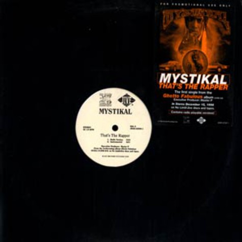 Mystikal - That's the rapper