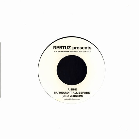 Rebtuz presents - Heard it all before Quantic Soul Orchestra remix