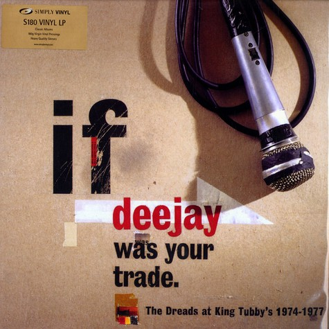 V.A. - If deejay was your trade - the Dreads at King Tubby's 1974-1977