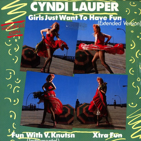 Cyndy Lauper - Girls just want to have fun