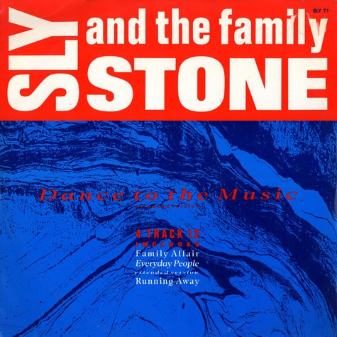 Sly & The Family Stone - Dance to the music (extended version)