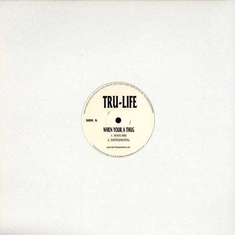 Tru-Life - When your a thug feat. Jewell, Kool G Rap & Prodigy
