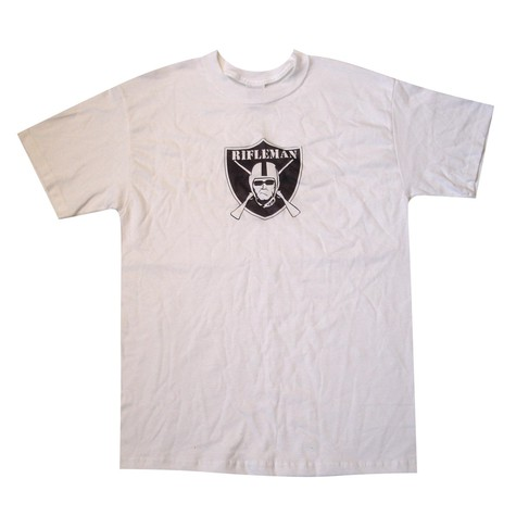 Rifleman - Raiders logo T-Shirt