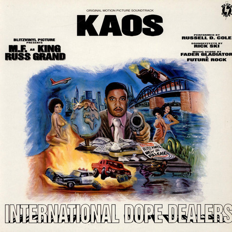 Kaos - International Dope Dealers -Original Motion Picture Soundtrack-