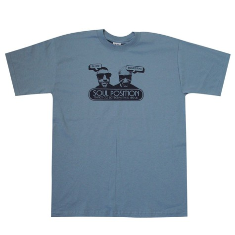 Soul Position (RJD2 & Blueprint) - Things go better with RJ & AL T-Shirt