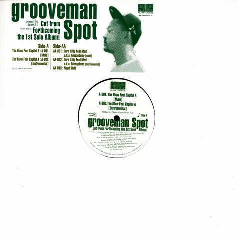Grooveman Spot - The Blow Feat. Capitol A