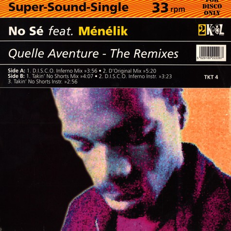 No Se - Quelle avanture remixes feat. Menelik