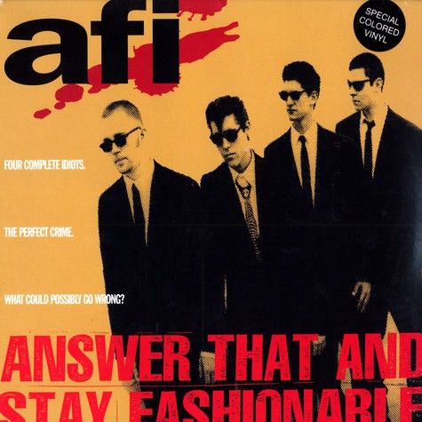 AFI (A Fire Inside) - Answer that and stay fashionable