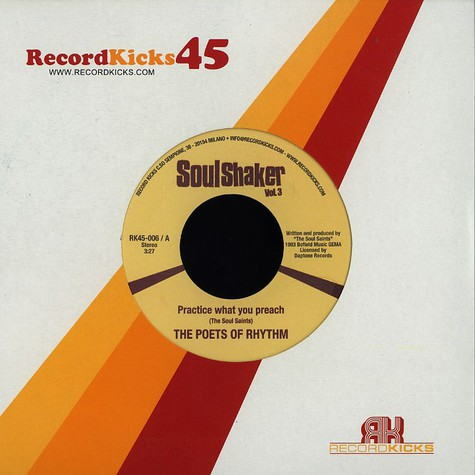 Poets Of Rhythm / Phatt Fred - Practice What You Preach / Stay On The Groove