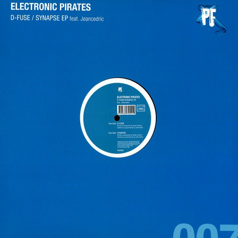 Electronic Pirates - D-fuse / synapse EP feat. Jeancedric