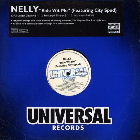 Nelly - Ride wit me feat. City Spud