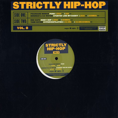 V.A. - Strictly hip hop volume 8