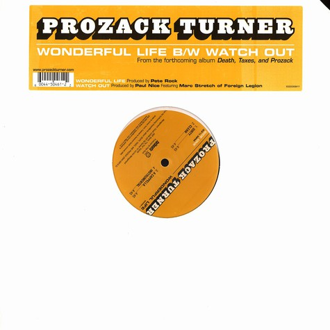 Prozack Turner of Foreign Legion - Wonderful life