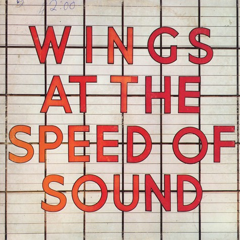 Wings - At speed of sound