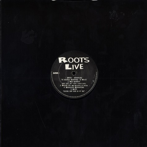 Roots, The - Live