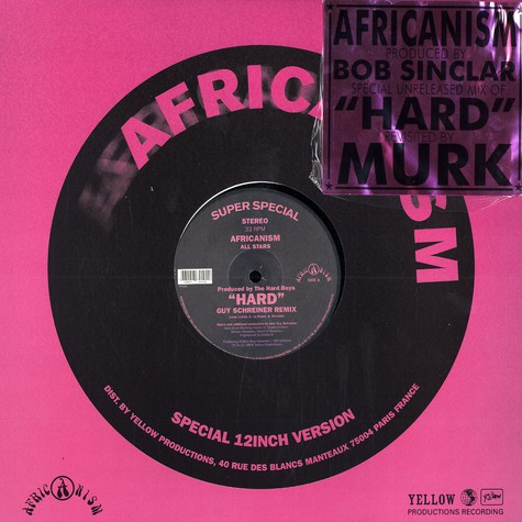 Africanism All Stars - Hard remixes