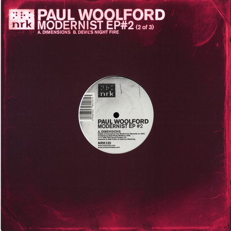 Paul Woolford - Modernist EP 2 of 3