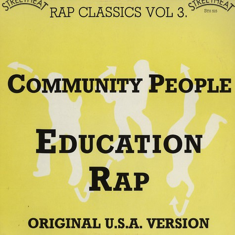 Community People - Education rap