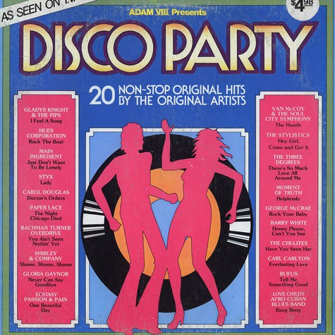 Disco Party - 20 non-stop original hits