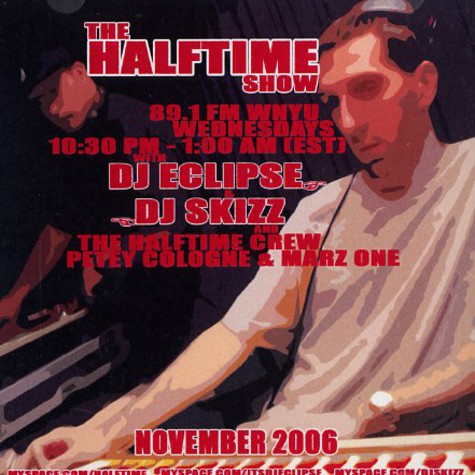 DJ Eclipse of Non Phixion & DJ Skizz - The halftime show november 2006