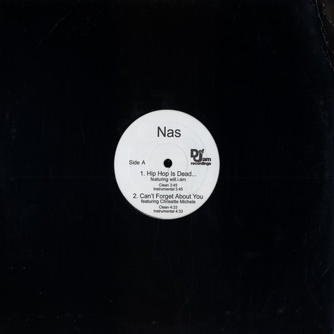 Nas - Hip Hop is dead album sampler