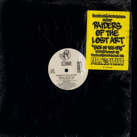 Raiders of the Lost Art - Back in the day