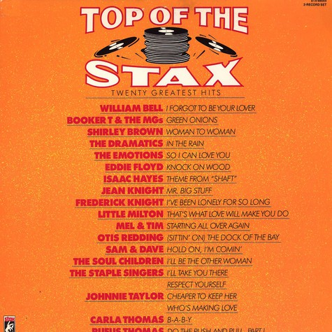 V.A. - Top of the Stax - twenty greatest hits