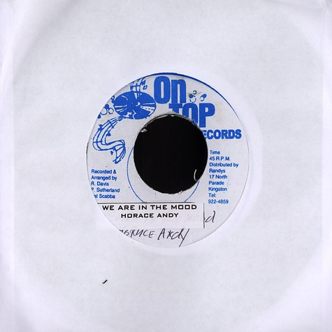 Horace Andy / George Nooks - We are in the mood / i do love you