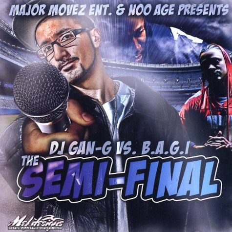 DJ Gan-G VS. B.A.G.I. - The semi-final