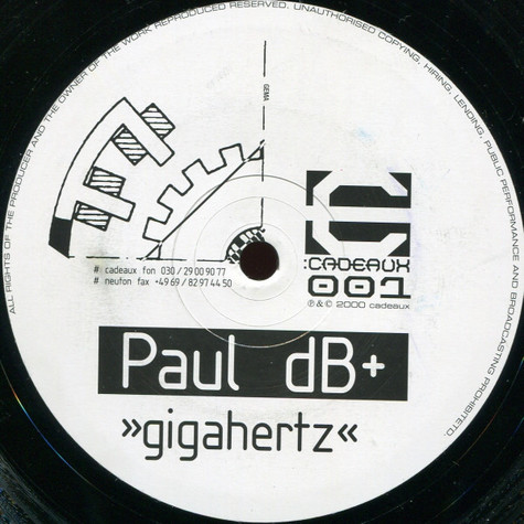 Paul dB+ - Gigahertz
