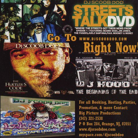 DJ Scoob Doo - The streets talk