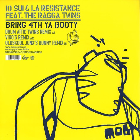 10 Sui & La Resistance - Bring 4th ya booty feat. The Ragga Twins