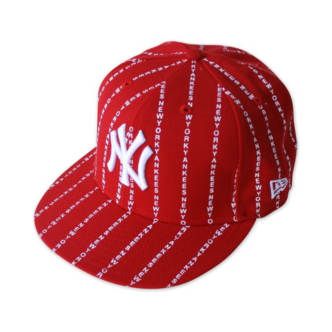 New Era - Woodmark pinstripe NY cap