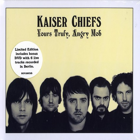 Kaiser Chiefs - Yours truly, angry mob limited edition