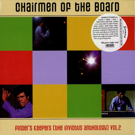 Chairmen Of The Board - Finder's keepers Volume 2