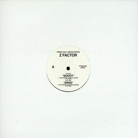Z Factor - Moody Joey Negro mix