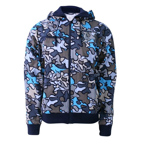 adidas - Soft camo hooded jacket