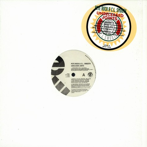 Pete Rock & CL Smooth - Unreleased joints
