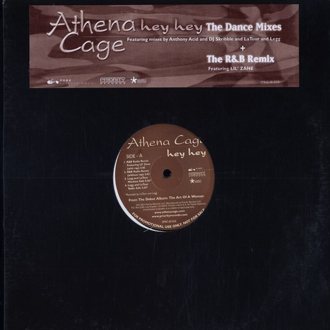 Athena Cage - Hey hey remixes