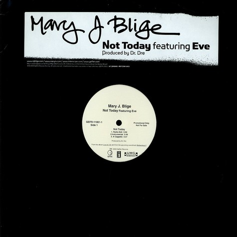 Mary J Blige - Not today feat. Eve