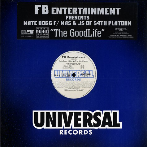Nate Dogg - The good life feat. Nas & JS of 5th Platoon